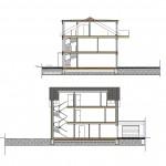 Zweifamilienhaus Grundriss Schnitt